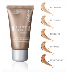 DEFENCE COLOR HYDRA Base de maquillaje hidratante. Envase 30ml.