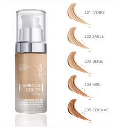 DEFENCE COLOR LIFTING Base de maquillaje antiedad. Envase 30ml.
