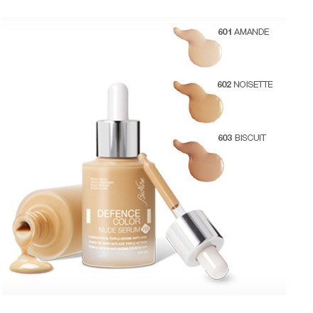 DEFENCE COLOR Fondotinta Nude Serum R3
