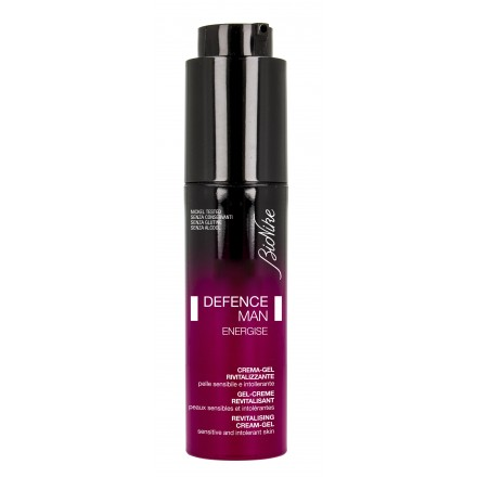 DEFENCE MAN ENERGISE Crema-gel revitalizante. Frasco 50ml. Cód. 15102